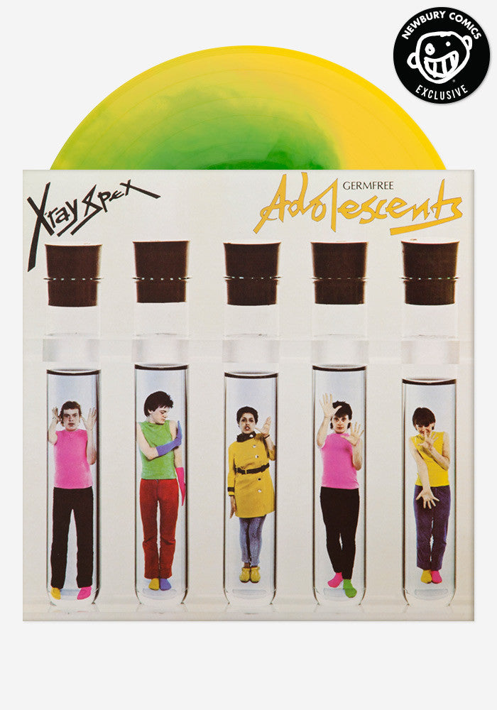X-RAY SPEX Germfree Adolescents Exclusive LP