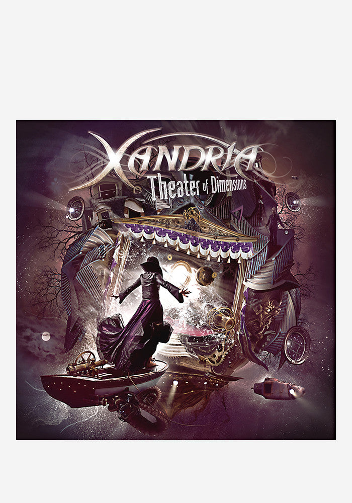 XANDRIA Theater Of Dimensions With Autographed CD Booklet