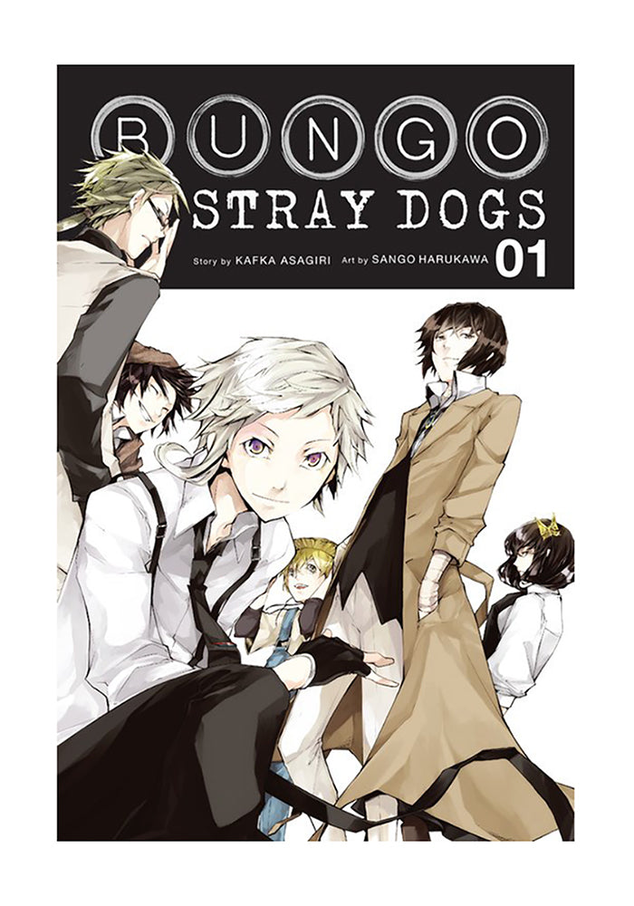 YEN PRESS Bungo Stray Dogs Vol. 1 Manga