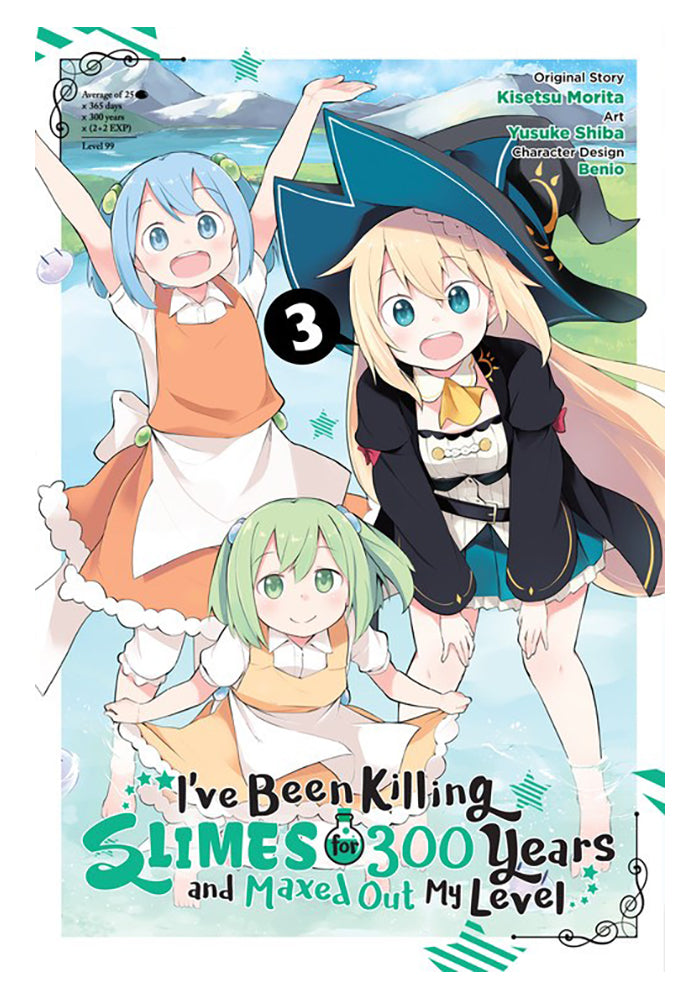 YEN PRESS I've Been Killing Slimes for 300 Years and Maxed Out My Level Vol. 3 Manga