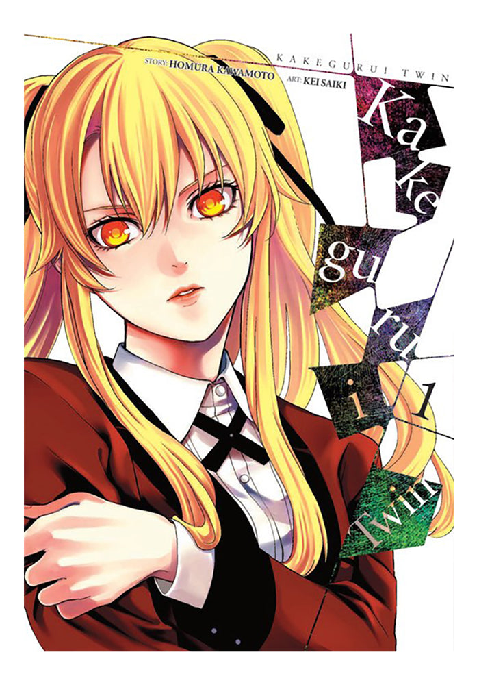 YEN PRESS Kakegurui Twin Vol. 1 Manga
