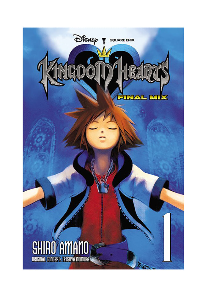 YEN PRESS Kingdom Hearts: Final Mix Vol. 1 Manga