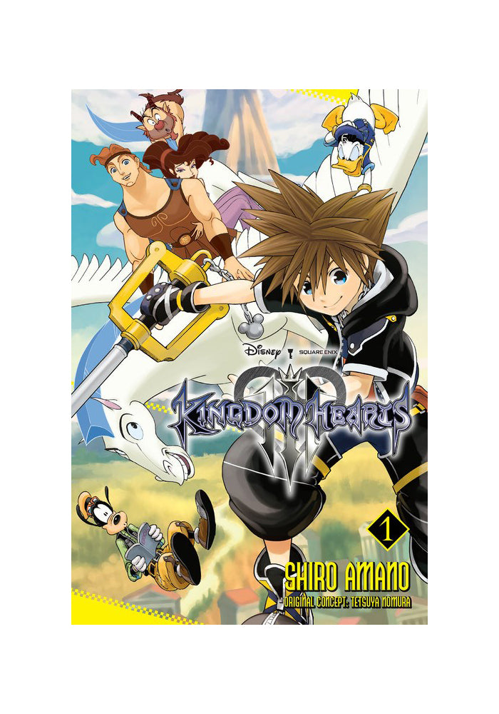 YEN PRESS Kingdom Hearts III Vol. 1 Manga