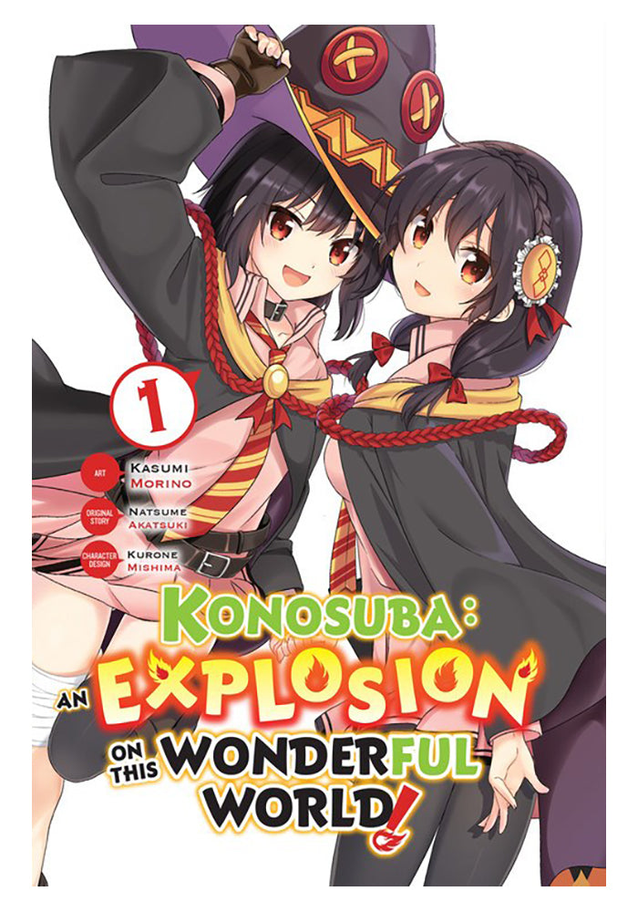 YEN PRESS Konosuba: An Explosion on This Wonderful World! Vol. 1 Manga