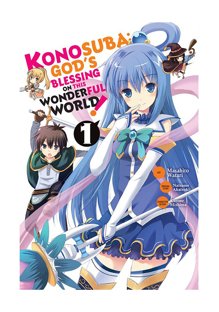YEN PRESS Konosuba: God's Blessing on This Wonderful World! Vol. 1 Manga