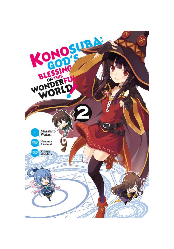 YEN PRESS Konosuba: God's Blessing on This Wonderful World! Vol. 2 Manga