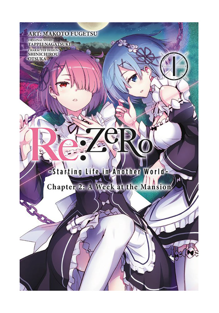 YEN PRESS Re:ZERO Starting Life in Another World Chapter 2: A Week at the Mansion Vol. 1 Manga