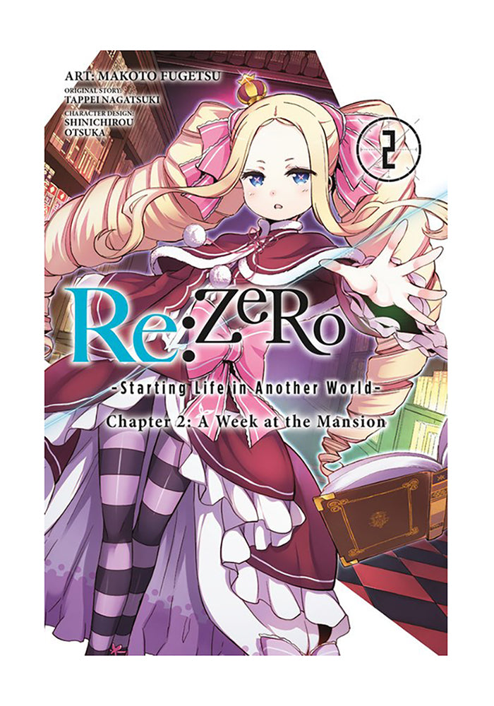 YEN PRESS Re:ZERO Starting Life in Another World Chapter 2: A Week at the Mansion Vol. 2 Manga