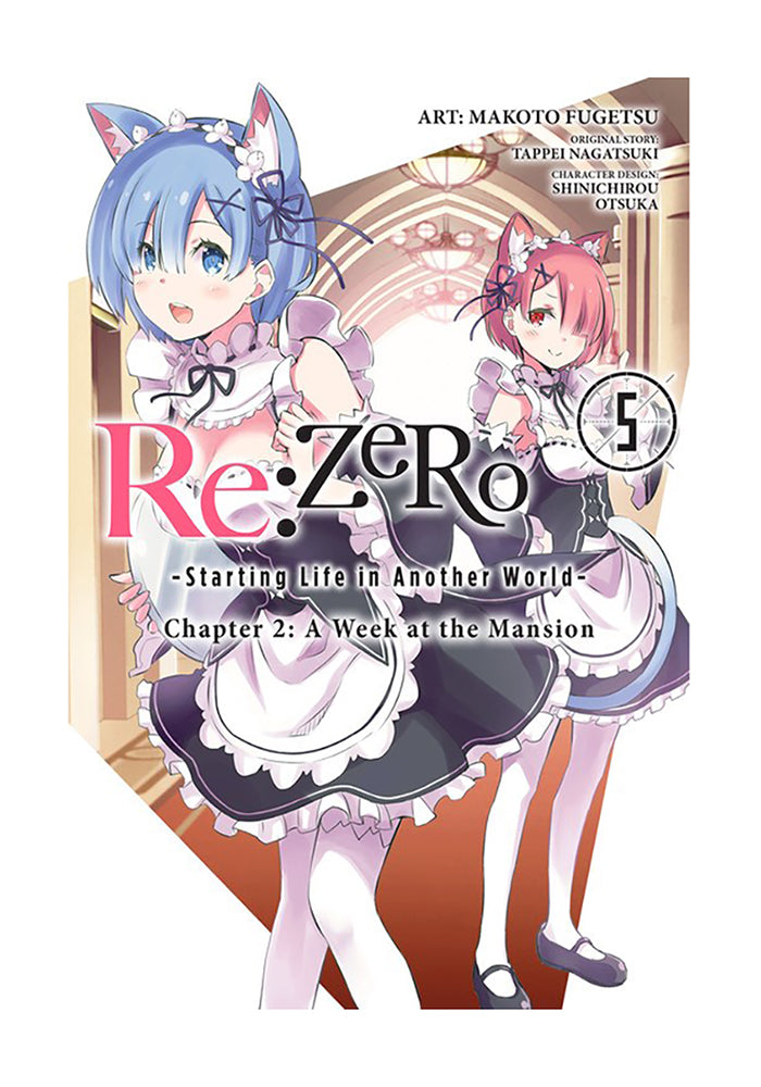 YEN PRESS Re:ZERO Starting Life in Another World Chapter 2: A Week at the Mansion Vol. 5 Manga