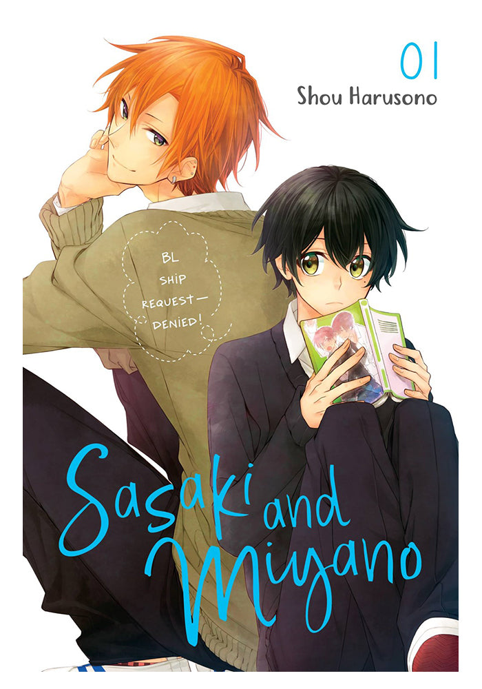 YEN PRESS Sasaki and Miyano Vol. 1 Manga