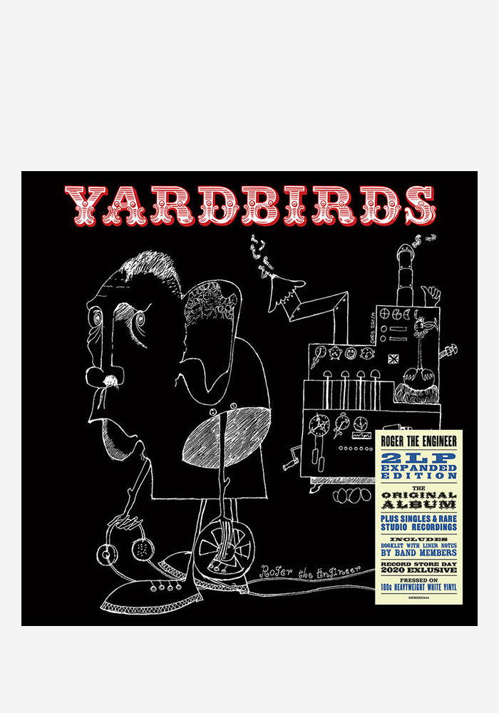 YARDBIRDS Roger The Engineer: Stereo & Mono 2LP (Color)