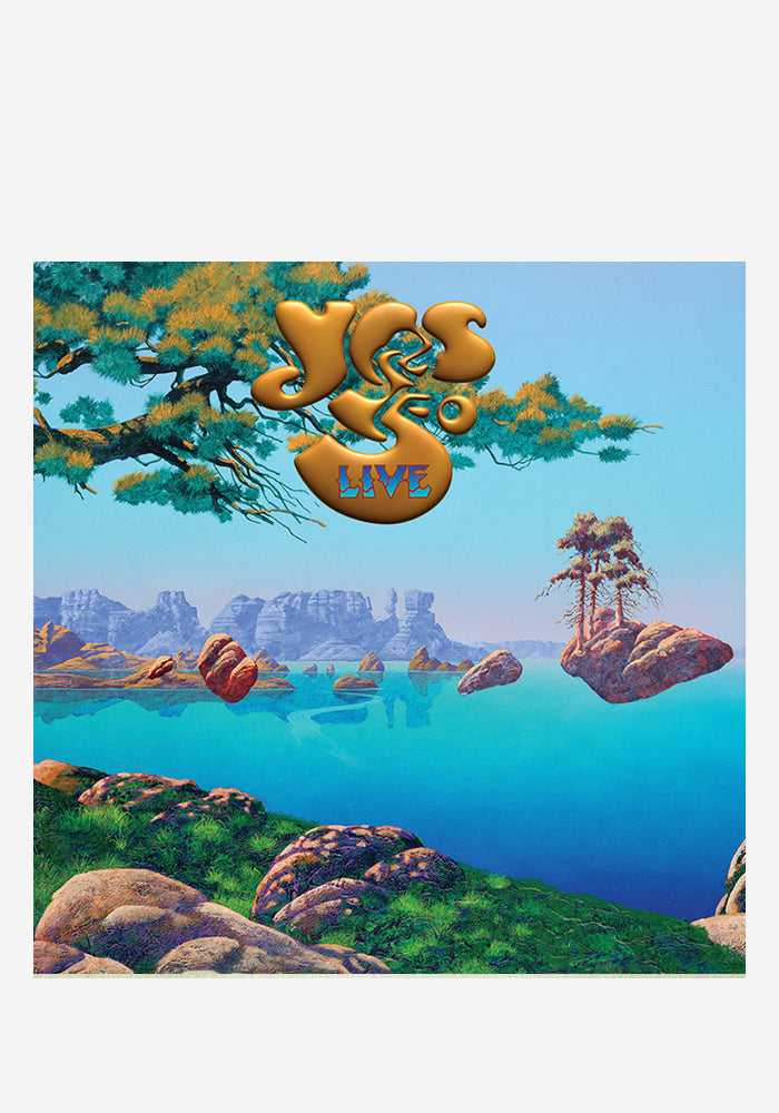 YES Yes: 50 Live 4LP