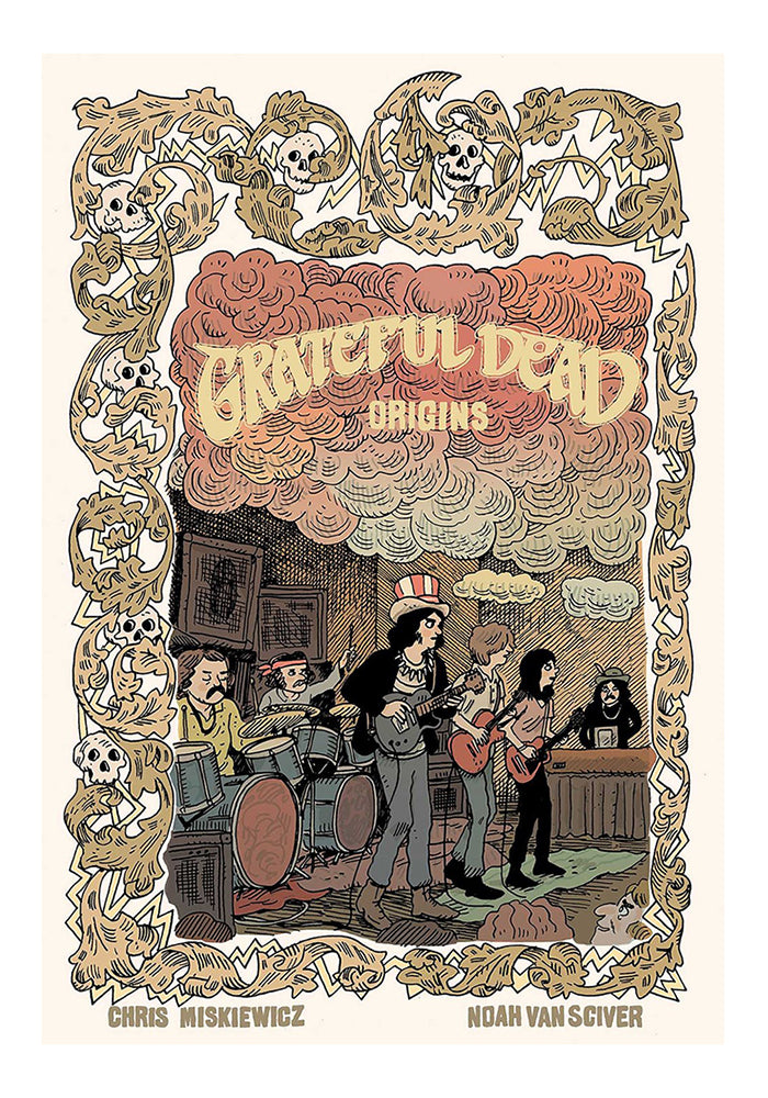 Z2 COMICS Grateful Dead Origins Vol. 1 Graphic Novel