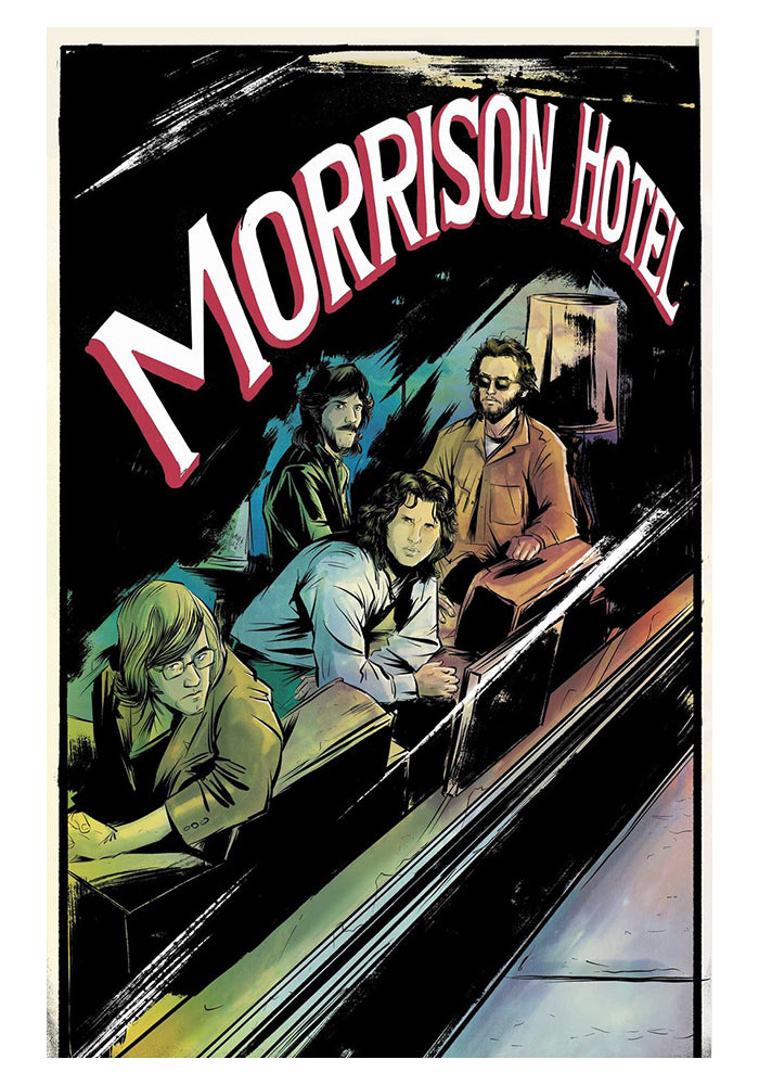 Z2 COMICS Morrison Hotel Graphic Novel