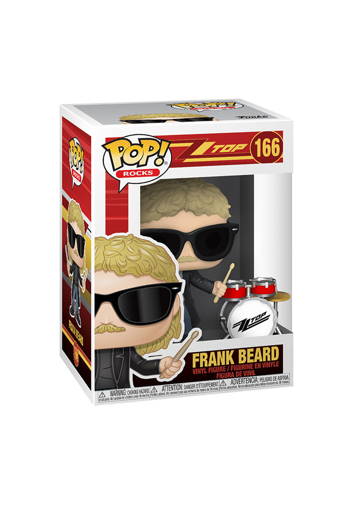ZZ TOP Funko Pop! Rocks: ZZ Top - Frank Beard
