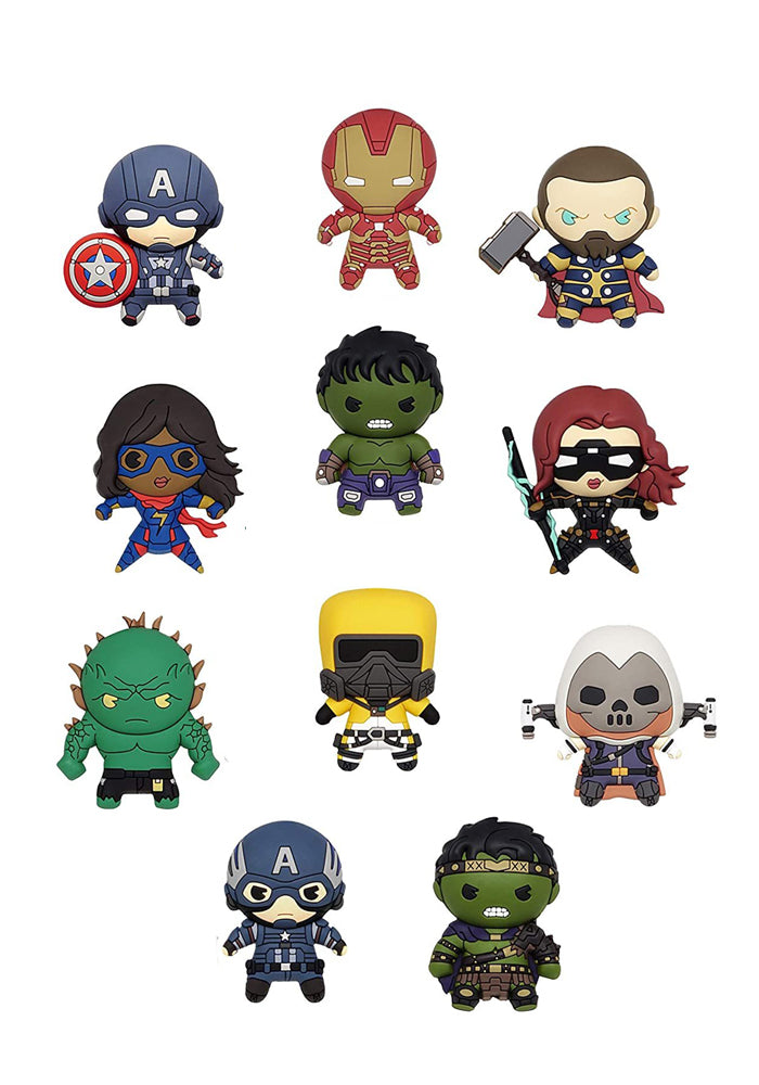 AVENGERS Marvel's Avengers 3D Foam Character Bag Clip Blind Bag