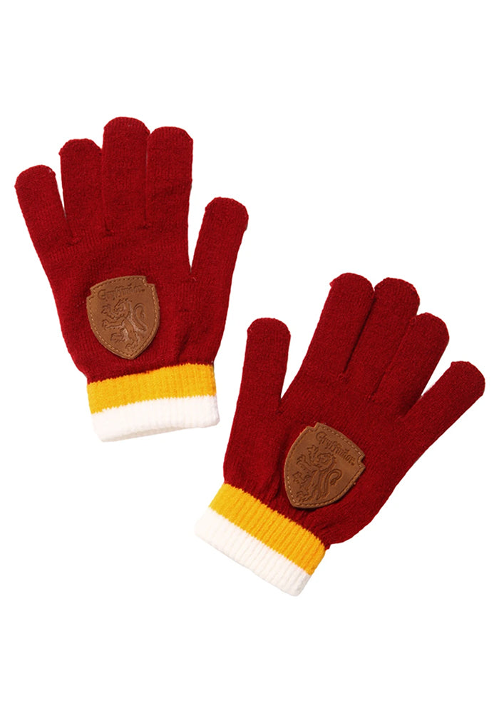 HARRY POTTER Gryffindor Gloves With Crest