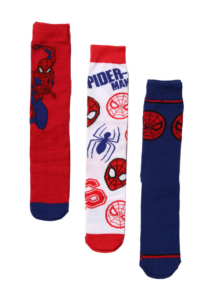 SPIDER-MAN Spider-Man Socks 3-Pack Box