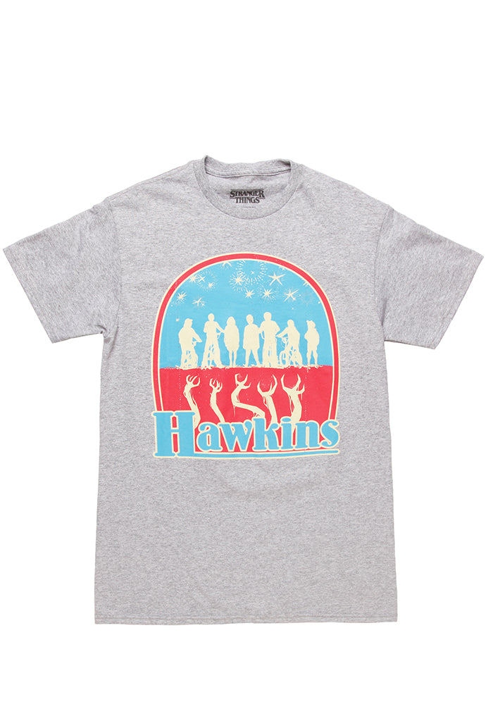 STRANGER THINGS Hawkins Badge T-Shirt