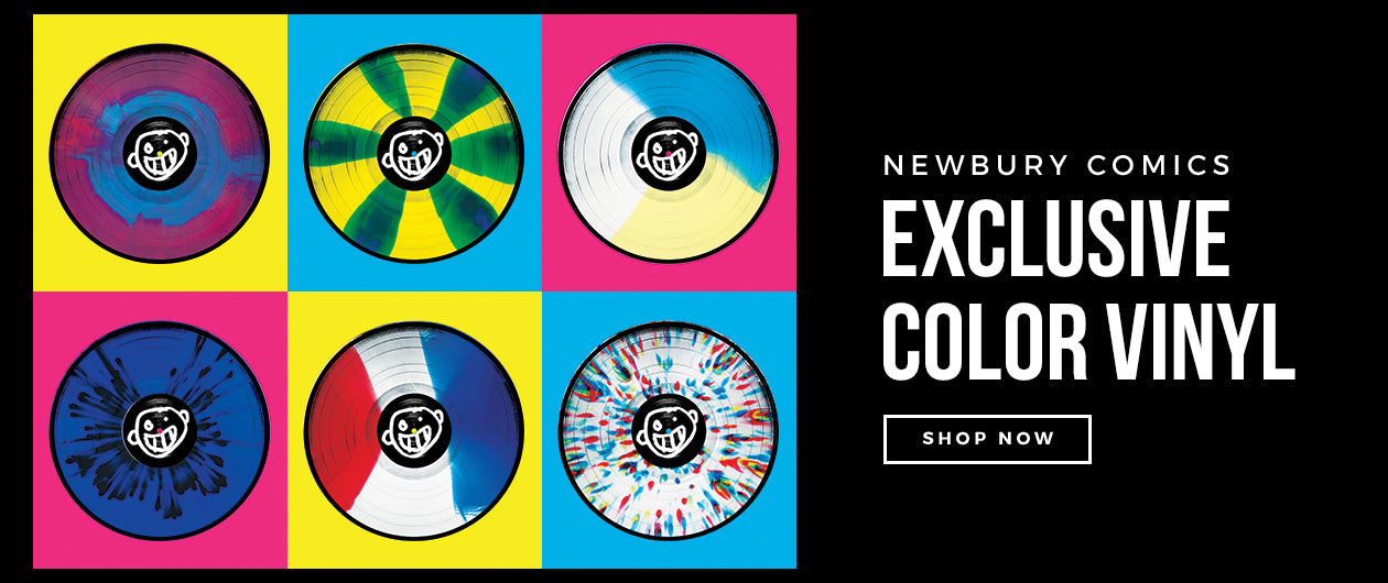 Newbury Comics Exclusive Color Vinyl Records
