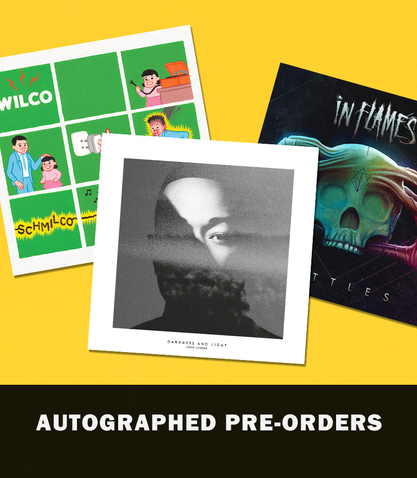 Autographed CD Booklets - Pre-Orders