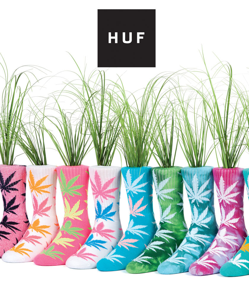 Huf Plantflife Socks