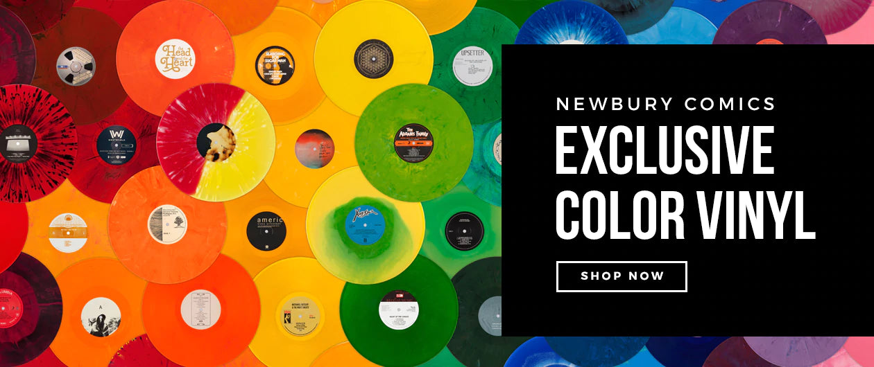 Newbury Comics Exclusive Color Vinyl - Shop Now