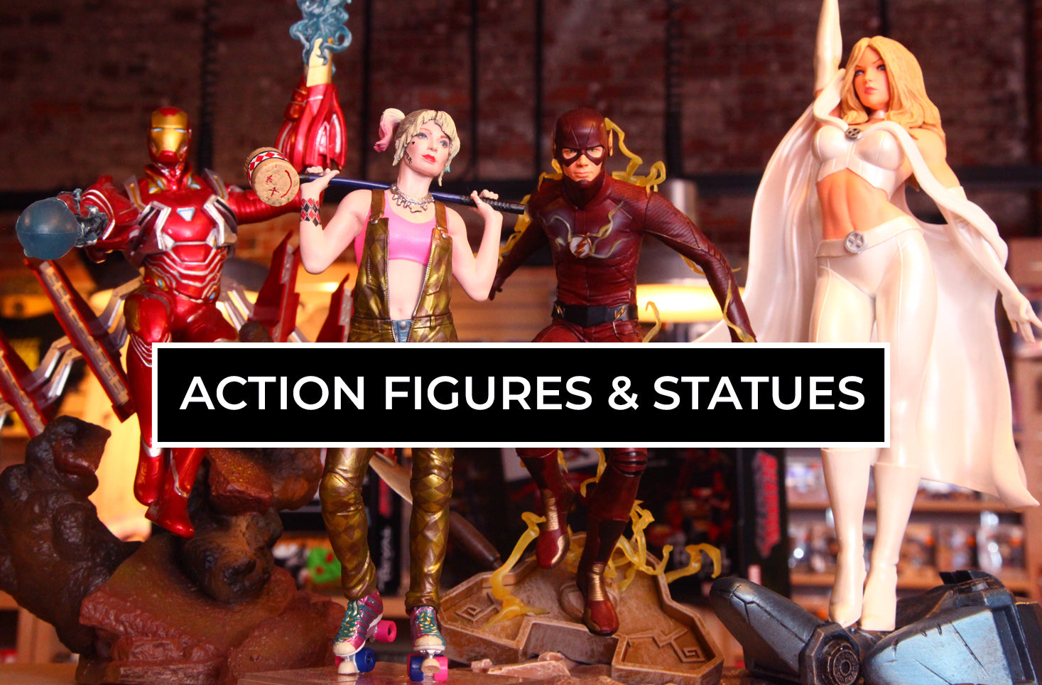 Action Figures & Statues