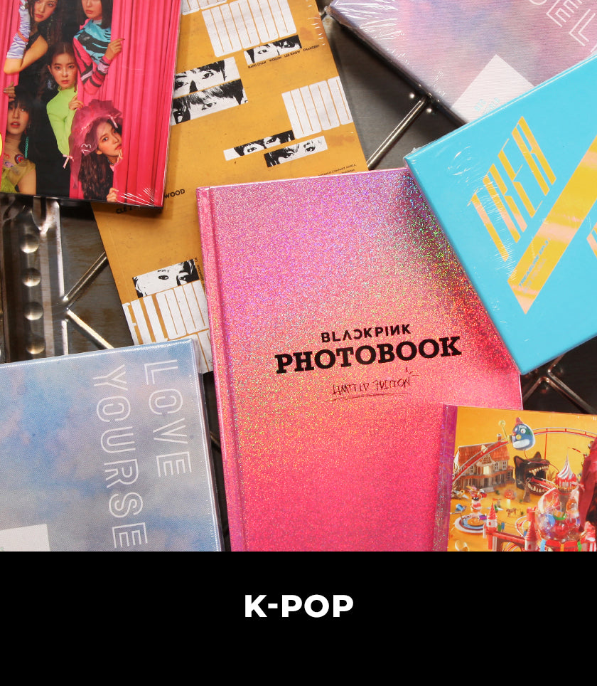 Music and Collectibles from BTS, NCT 127, Red Velvet, and more!