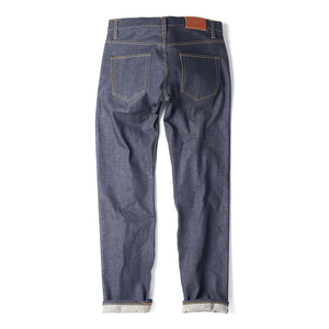 Loose Tapered Japanese Selvedge Jeans - HAWKSMILL DENIM CO