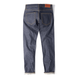 Slim Tapered Japanese Raw Selvedge Jeans - HAWKSMILL DENIM CO