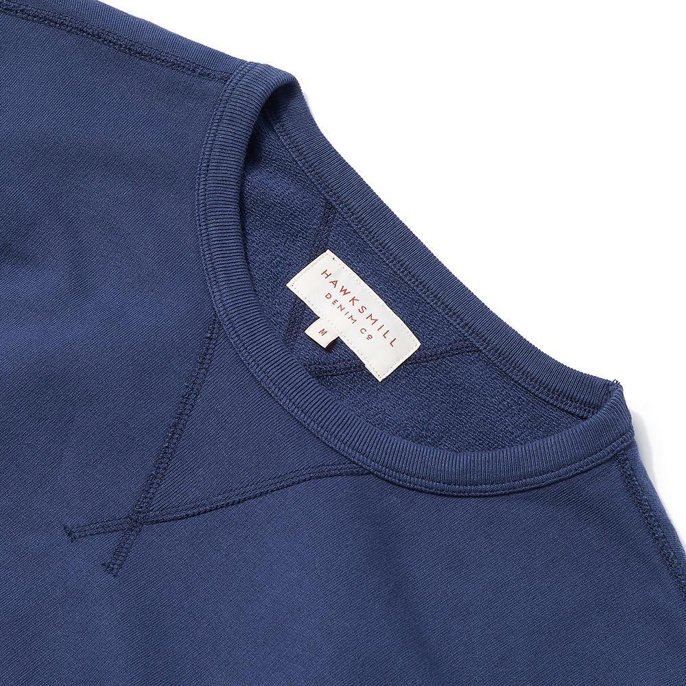 Garment Dyed Sweat Navy