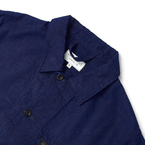 Indigo Zip Pocket Utility Jacket - HAWKSMILL DENIM CO
