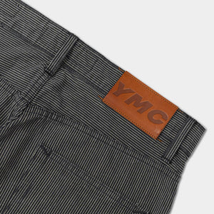 Hawksmill X YMC Loose Tapered Japanese Selvedge Stripe Jeans