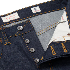 Loose Tapered - Cone Mills White Oak Selvedge Jeans - HAWKSMILL DENIM CO