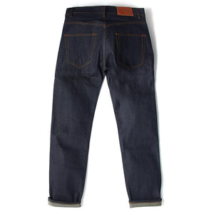 Loose Tapered Nihon Menpu Selvedge Jeans - Made In England - HAWKSMILL DENIM CO
