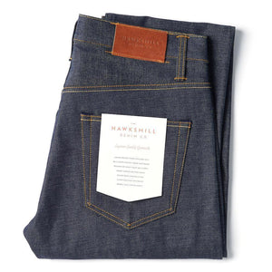 Regular Tapered Japanese Selvedge Jeans - HAWKSMILL DENIM CO
