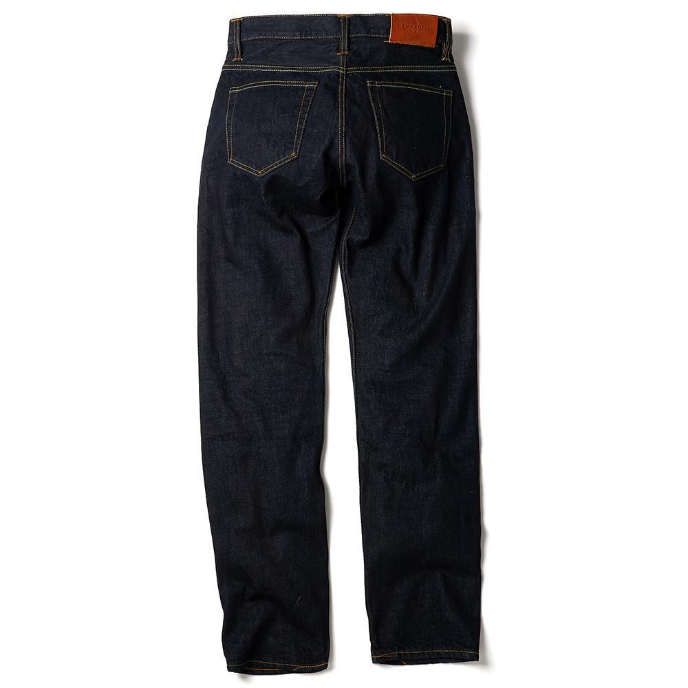 Hawksmill Denim -Regular Tapered Organic Crinkle Rinse