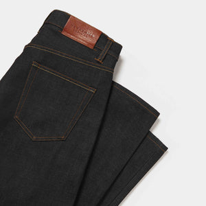 Loose Tapered 14oz Dry Organic Jeans