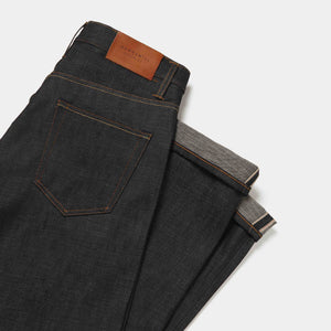 Loose Tapered 14.5oz Red Listed Selvedge Jeans jean HAWKSMILL DENIM CO