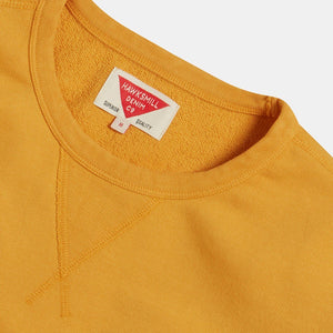 Organic Loopback Sweatshirt (Sunshine Yellow) Sweatshirts HAWKSMILL DENIM CO