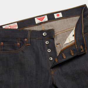 Slim Tapered Japanese Selvedge Jeans (Indigo) - Kaihara Jeans HAWKSMILL DENIM CO