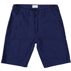 Indigo Utility Shorts TROUSER HAWKSMILL DENIM CO
