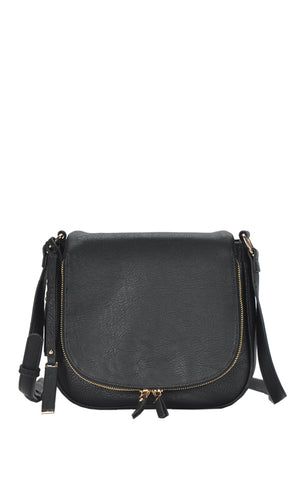 Medium Every Day Crossbody - Black