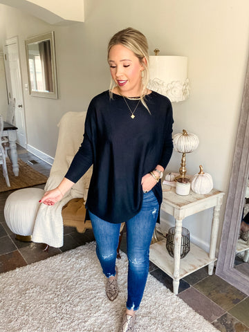 Always Ready Tunic - Black