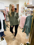Cozy Chic Pullover - Olive