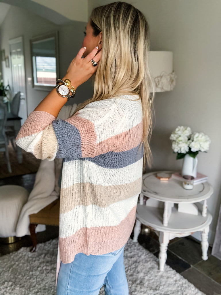 Striped Dream Cardigan
