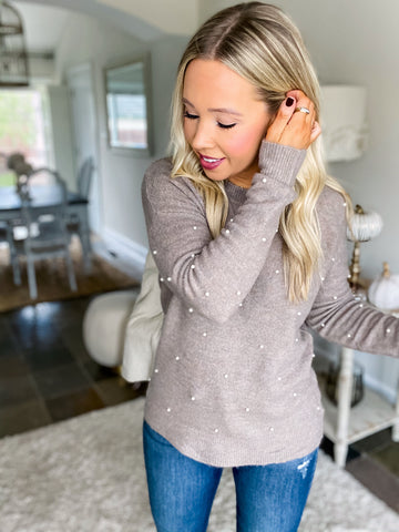 Passion & Pearls Sweater