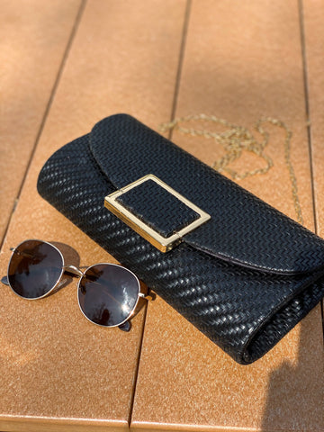 Date Night Clutch - Black