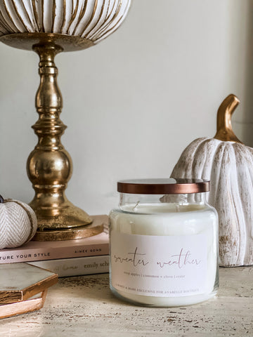 Sweater Weather Candle - 20 oz.
